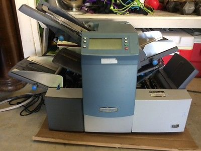 Pitney Bowes DI380 Folder Inserter Machine - LOW CLICK COUNT!!! 204,364
