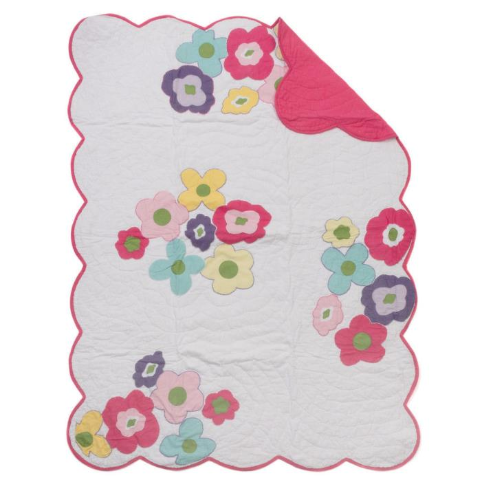 Spring Time Cotton Baby Quilt