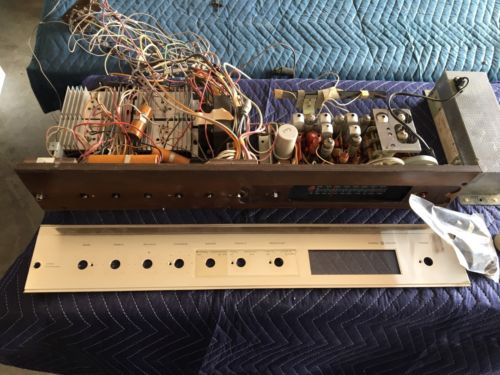General Electric Tube Stereo Hi-Fi Amplifier from Working Stereo Console