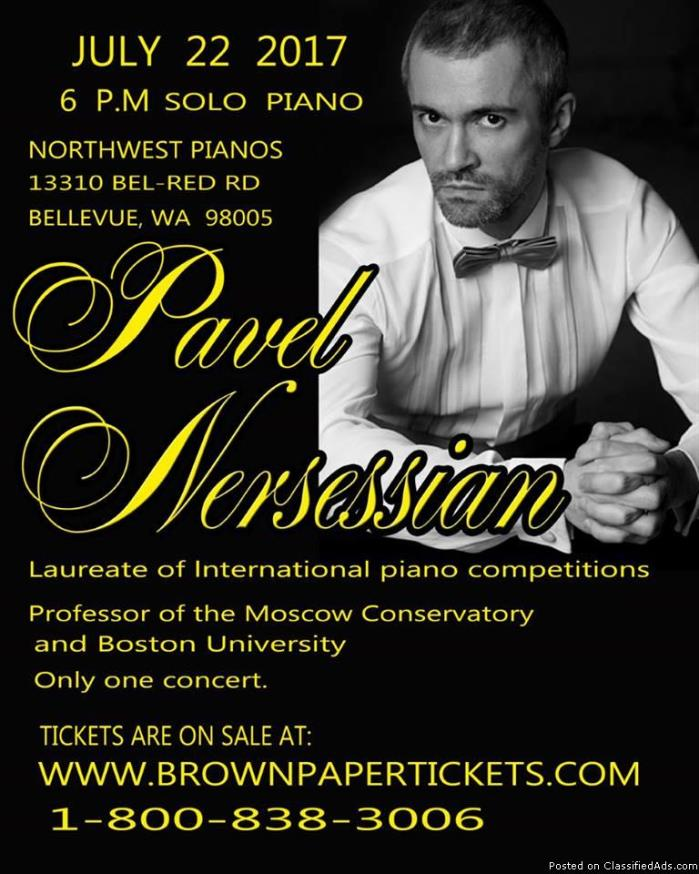 Pavel Nersessian Solo Piano Concert