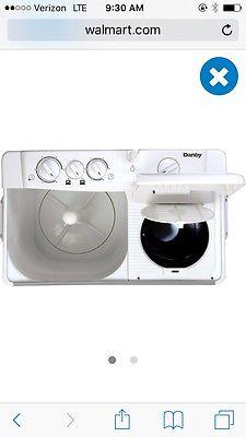 Apartment sized washer&added bundle