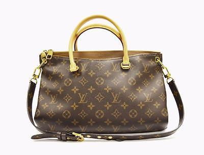 Louis Vuitton Brown Monogram  PALLAS  Tote Handbag 270170DC