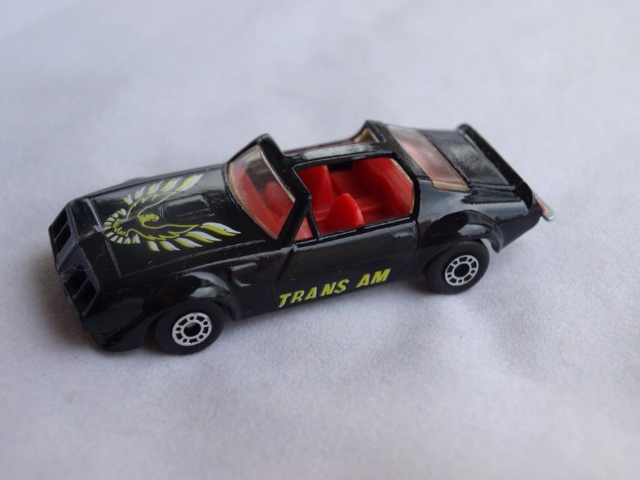 Matchbox Superfast Pontiac Trans Am Black 1979