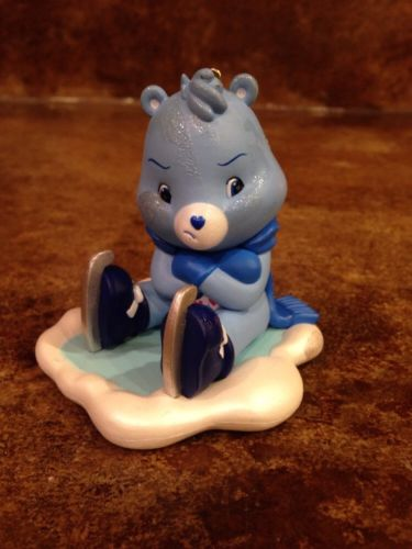 Grumpy Bear Care Bear Ice Skating Ornament!