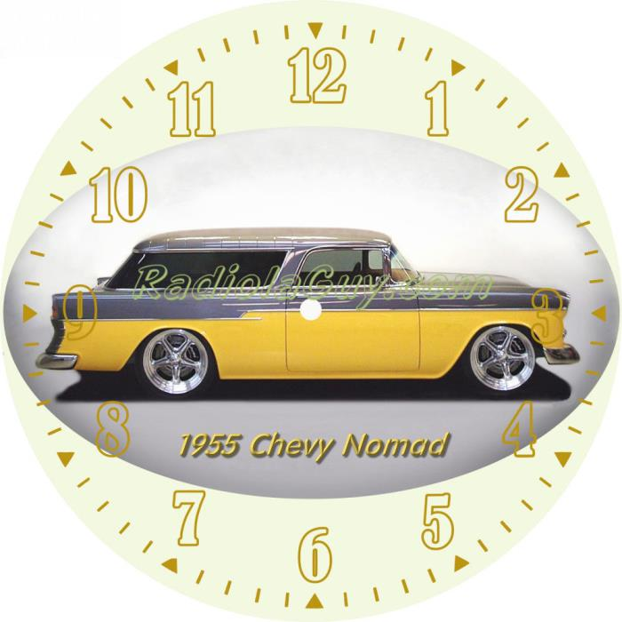PAM Clock Face 55 Chevy Nomad
