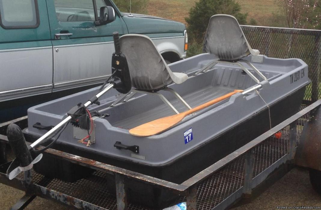 2 man pond boat