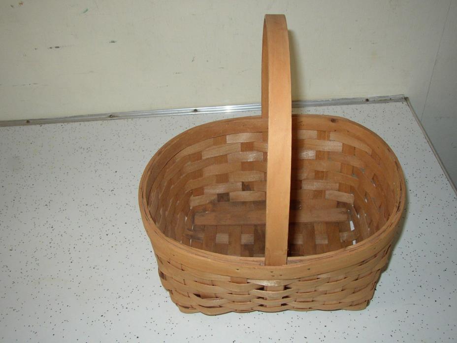 VINTAGE  Woven Egg  Basket
