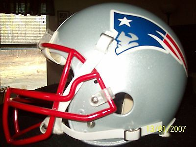 New England Patriot Football Helmet