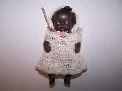 Vintage Antique Black Americana Baby Doll 4