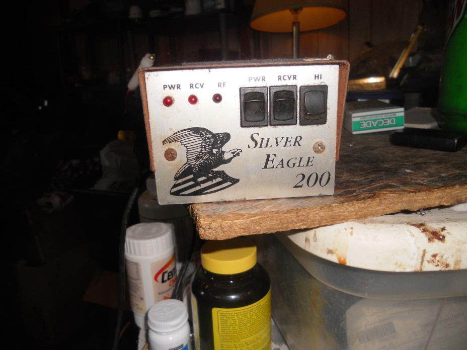 SILVER EAGLE 200 LINEAR AMP