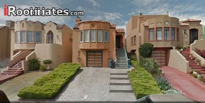 $1250 Four room for rent in Bernal Heights