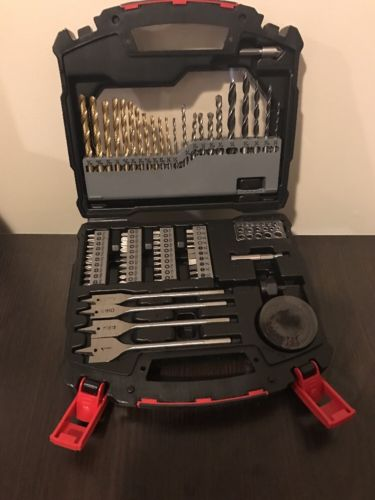 Hyper Tough 78-Piece Essential Drill and Bits Set, Home Jobsite Basic Drillworks