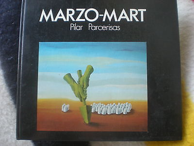 Manel Marzo-Mart, Catalan Spanish Surrealist Artist Book, Signed-Numbered 1/100.