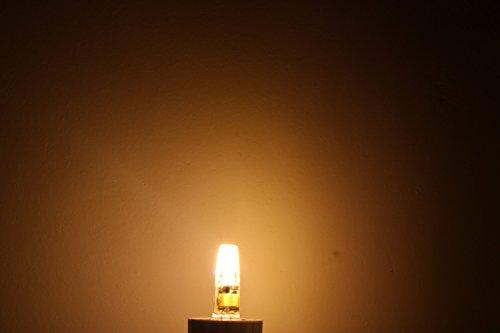 Dayker 2W G4 Base AC/DC 12V Bi Pin LED Corn Bulb Warm White Not Dimmable