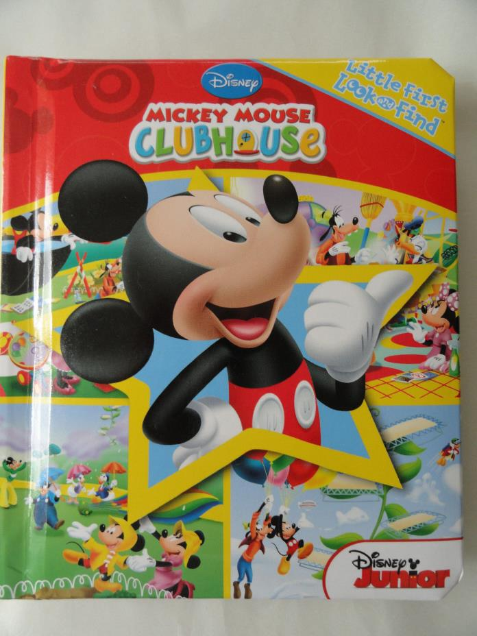 Disney Mickey Mouse Clubhouse Padded Book
