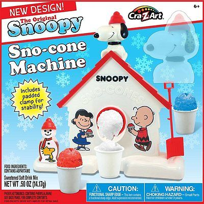 Cra-Z-Art Peanuts Snoopy Snow Cone Machine