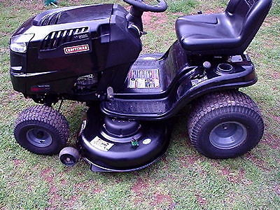 CRAFTSMAN LT 2000 RIDING MOWER
