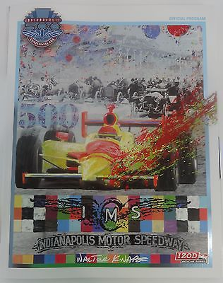 2010 Indianapolis 500 Program Dario Franchitti Line-Up Chevrolet Camaro