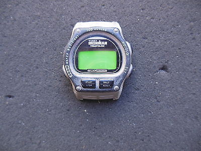 Timex IRONMAN TRIATHLON Water resistant watch 8 lap memory INDIGLO