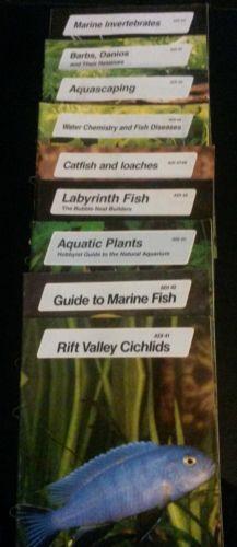 Lot of 9 diff Aquarium Digest ADI 41,42,45,46, 47/48, 49,50,51,53 Tetra Press