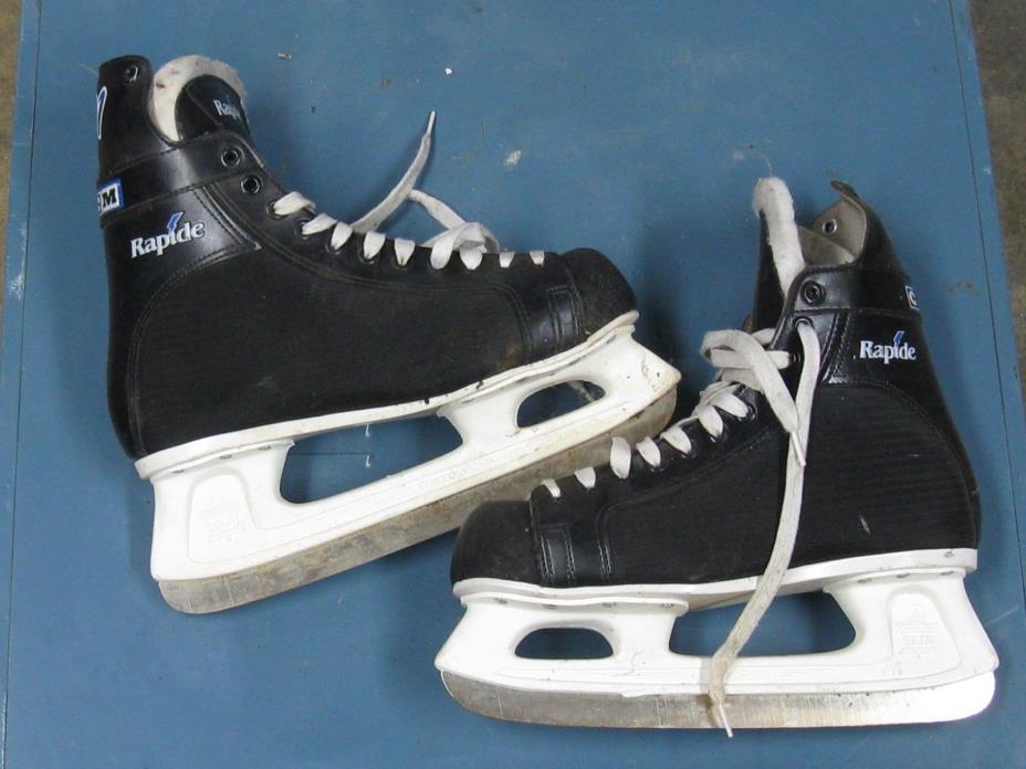 Men's Hockey Skates Size11 Rapide 101 CCM Nice Condition