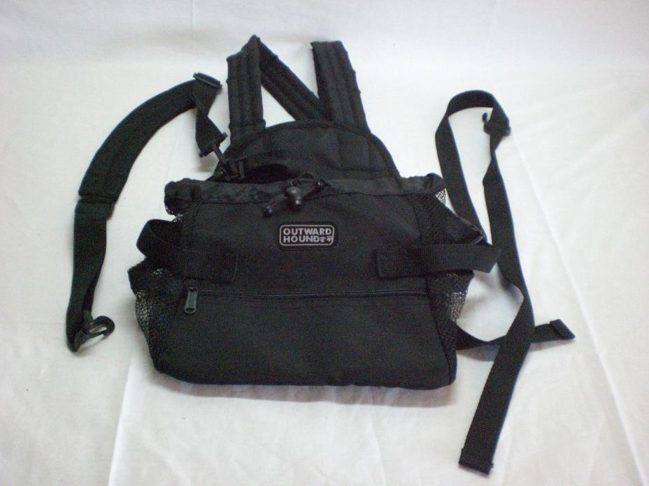 Outward Hound Front Dog Carrier! Easy drawstring to tighten & pocket!!