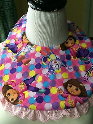 Dora the Explorer Padded Baby Bib