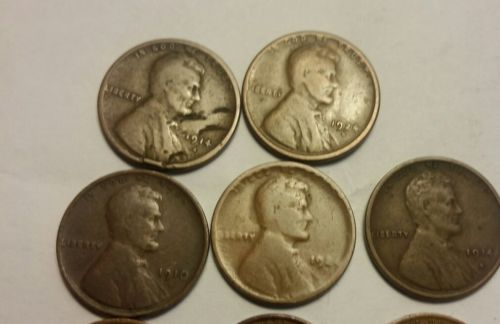 Lincoln wheat pennies lot plus albums and more!!  Tons of profit potential.