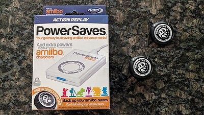 Amiibo Action Replay Power Saves TWO POWER Tags Zelda Breath of the Wild