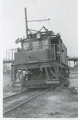 6E622 RP 1940s? CSS&SB CHICAGO SOUTH SHORE SOUTH BEND RAILROAD LOCOMOTIVE #1011