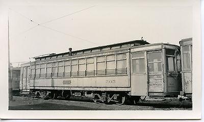 6E900E RP 1940s CNS&M NORTH SHORE RAILROAD CAR #505