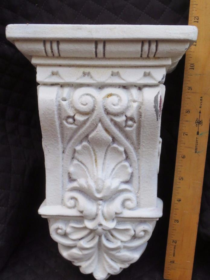 Resin Unfinished Corbel Curtain Rod Holder Decorative Hardware French Inspired