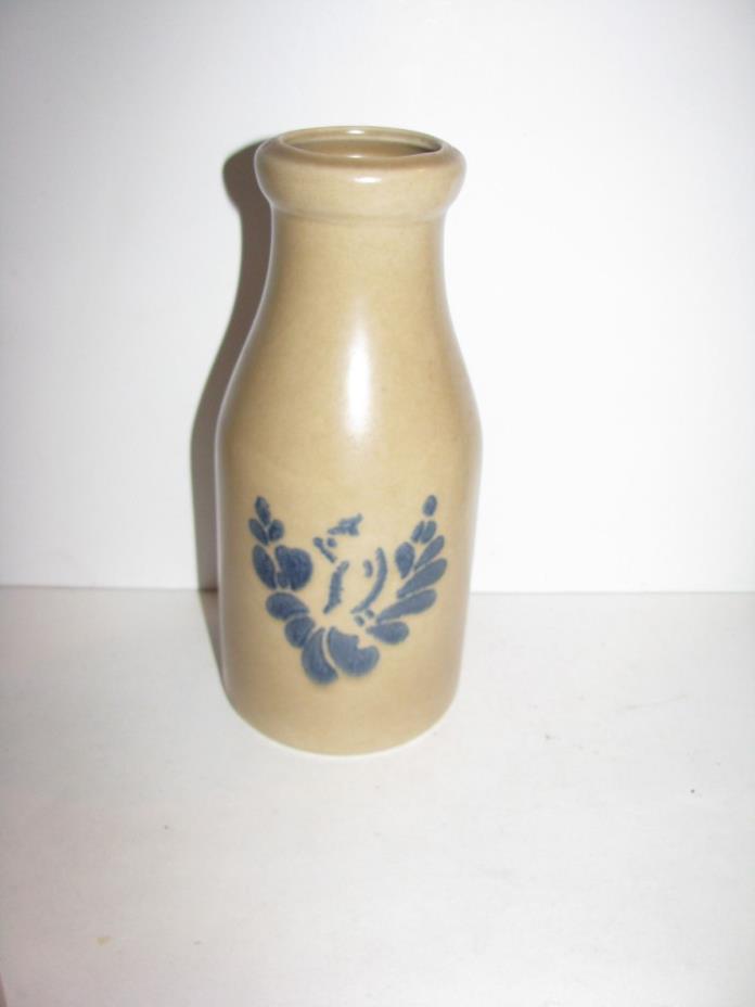 Pfaltzgraff, Folk Art, Milk Bottle, Old Castle Mark, Very Nice
