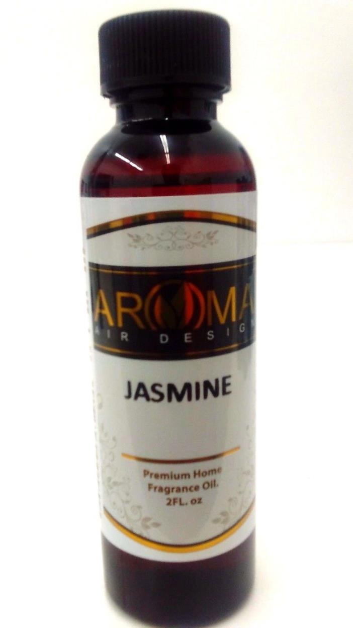 JASMINE OIL FRAGRANCE SCENTS 2 OZ  FOR BURNER OR WARMER