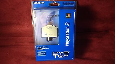 Sony Eye Toy  USB Camera Playstation 2  PS2 (PS3)  Official Silver