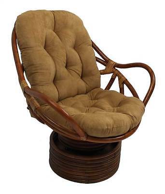 Swivel Rocker Chair in Stain Finish [ID 3185854]