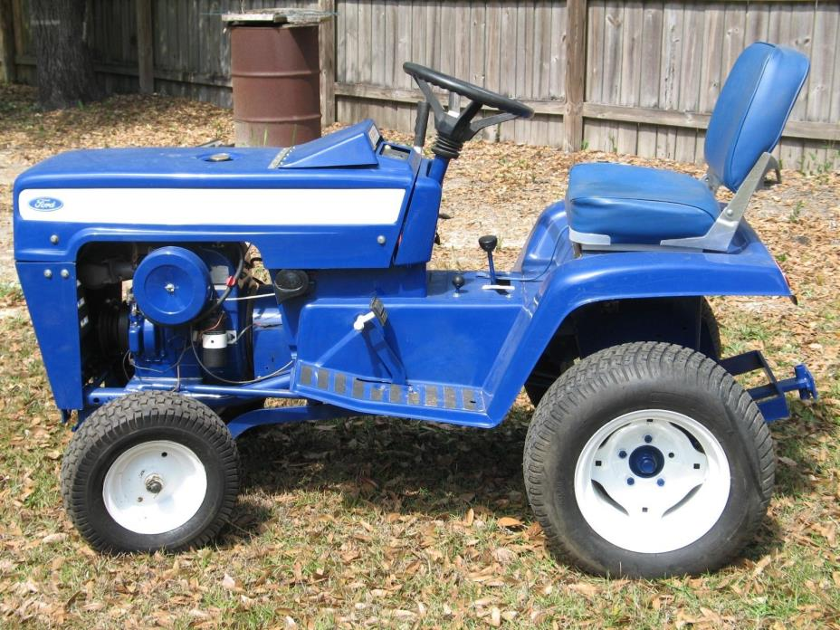 Used Ford Lawn Tractor : Garden tractor ford for sale classifieds