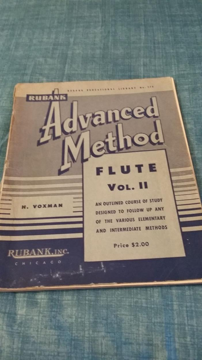 Flute Advanced Practice Book