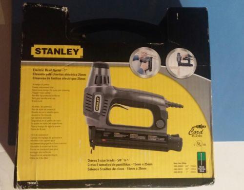 STANLEY TRE650 ELECTRIC BRAD NAILER