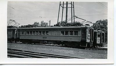 6E619 RP 1940s? CSS&SB CHICAGO SOUTH SHORE SOUTH BEND RAILROAD CAR #2