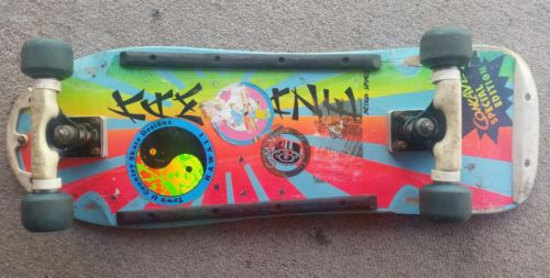 Vintage 80's Skateboard kamakaze