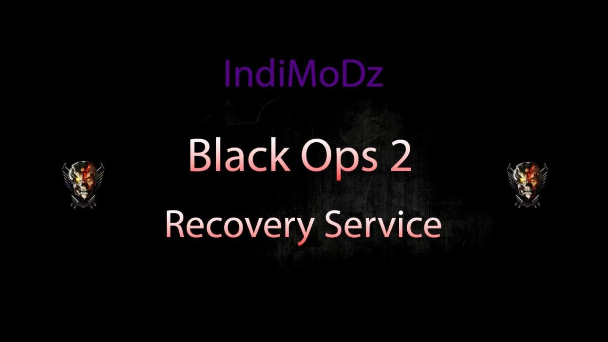Black Ops 2 Modding Service (Provide Your Own Account)