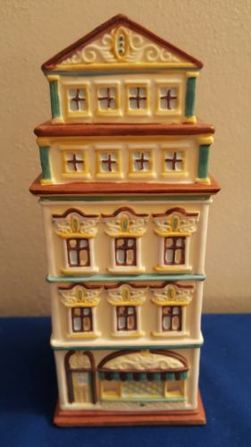 PartyLite Tealight House Candle Christmas Village