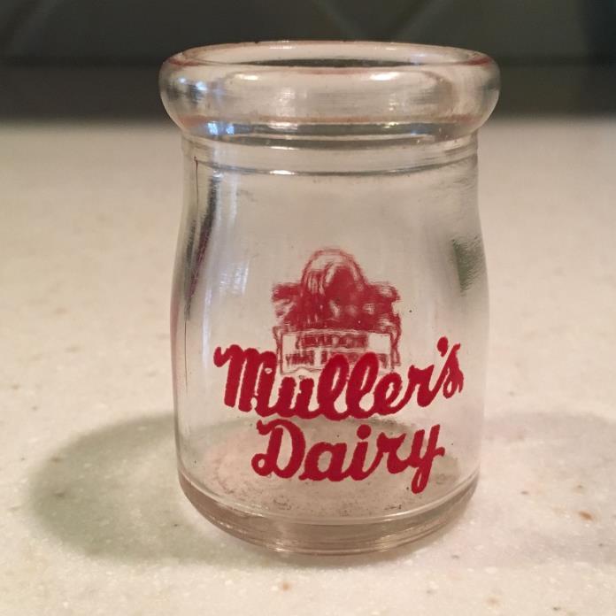 Vintage Mullers Rockford Pioneer Dairy Milk Creamer