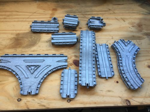 Thomas The Train Plastic Tracks Connectors  Trading And  Curves
