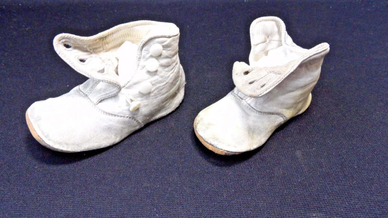 Antique High Button Baby Shoes For Sale Classifieds