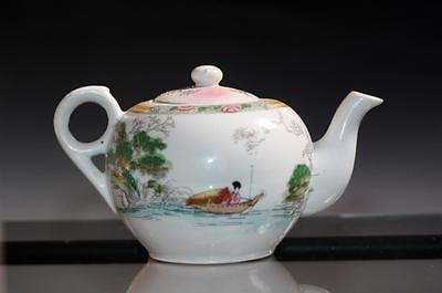 Amazing vintage Japan Porcelain Hand Painted  Teapot