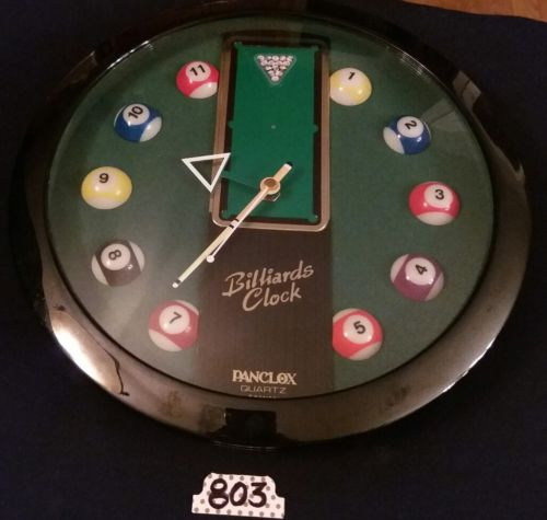 Panclox Quartz Billiards Wall Clock
