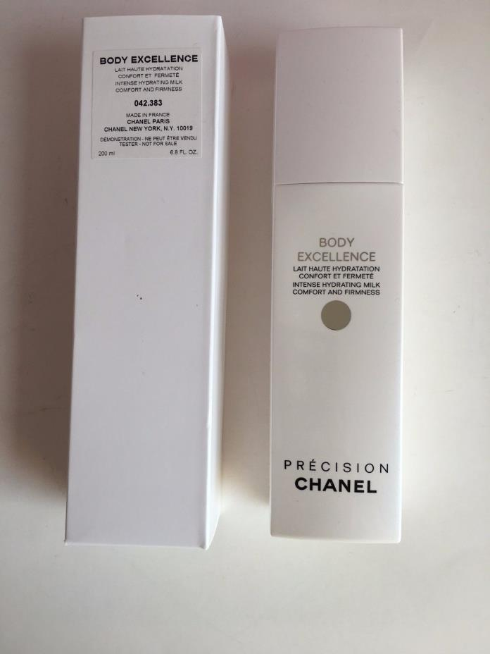 Chanel Body Excellence Intense Hydrating Milk Comfort & Firmness 200ml TESTER
