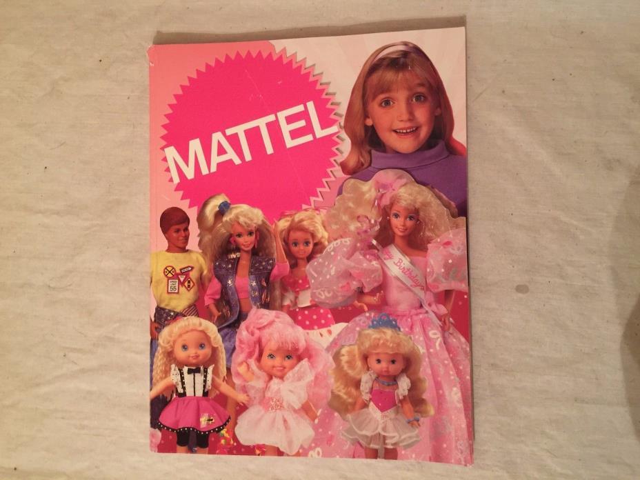 Mattel Toy Fair Girls Toys 1991 Barbie Mahogany Polly Pocket